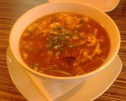 Supa acru-picanta de porc