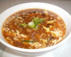 Supa acru-picanta de pui