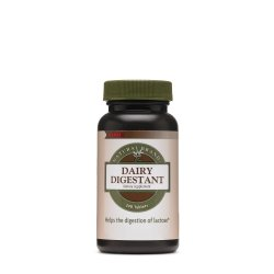 GNC NATURAL BRAND ™ DAIRY DIGESTANT, LACTAZA, 240 TB