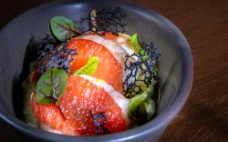 Creveţi cu grapefruit la cuptor image