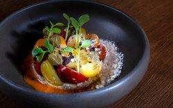 Salată de roșii cherry multicolore image