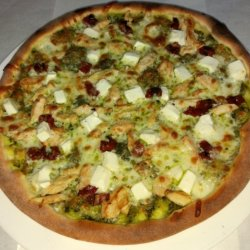 Pizza mediteraneana