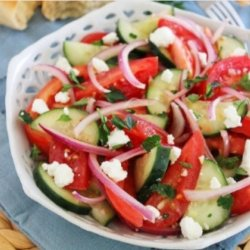 Salată de vară cu brânză