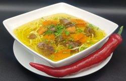 Supă din rasol de vițel cu tăiței de casă image