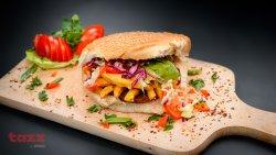 Dublu cheeseburger de pui image