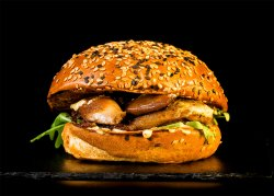 Big Daddy Pulled Duck Burger & Crispy Fries image