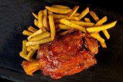 BBQ Smokey Knuckle & Crispy Fries + Ursus Premium 0.33 image