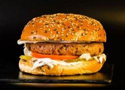 Burger Beyond Freddie + Crispy Fries (470 g) image