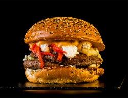 Pachet Family 1+1: Burger Big Daddy Ozzy & Crispy Fries  image