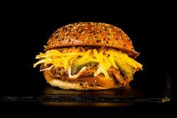 Burger Cheesy Bob Turkey & Crispy Fries image