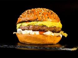 Burger Lemmy & Crispy Fries image