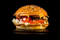 Burger Ozzy & Crispy Fries image