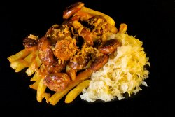 Smoked Curry Wurst image