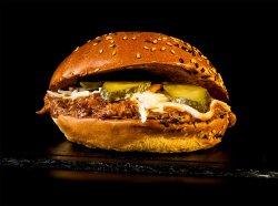 Burger Smokey Jack Turkey & Crispy Fries image