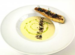 Supă cremă de usturoi image