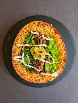 Fresh burrito vită image