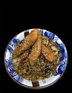 Orez crispy de pui Thai  image