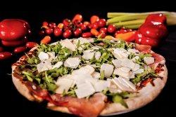 Pizza con rucola image