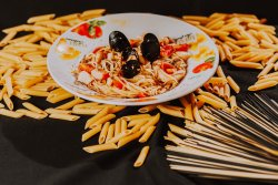 Spaghetti con frutti di mare image