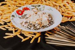 Spaghetti negro con gamberi image