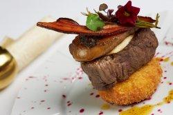 """Signature dish  """"beef rossini"""" image"""