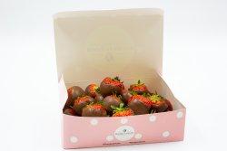 Căpșune glazurate