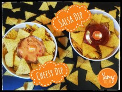 Double trouble Cheese & Salsa 680g
