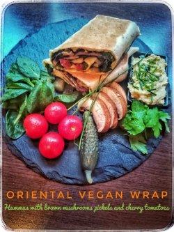 Oriental Vegan Wrap image