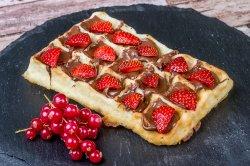 Strawberry - Nutella Waffle