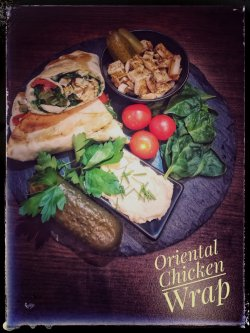 Oriental Chicken Wrap image