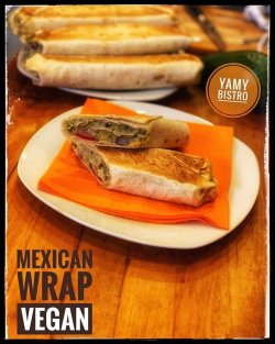 Mexican Wrap - vegan image