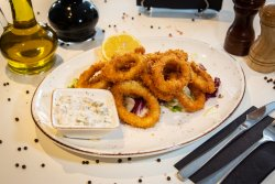 Calamar inele fritti image