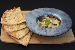Hummus with truffles image