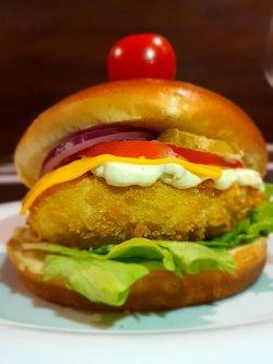 Burger Fry Chicken image