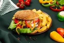 Burger sibian image