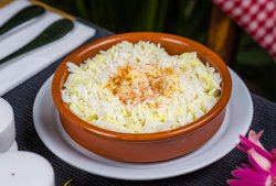 Orez basmatic cu lemongrass