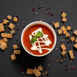Supă crema de roșii cu busuioc image