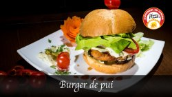 Burger de pui fraged