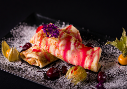 Sour Cherry Crepes image