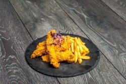 Crispy strips / Crispy Picant cu cartofi prăjiți image