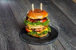 Double Pleasure Burger