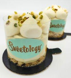 Cheesecake la rece - fistic exotic image