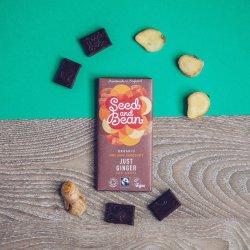 Ciocolata amaruie cu ghimbir Bio