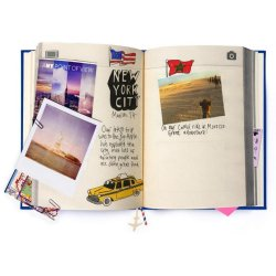 Jurnal - My Travel Journal - Black