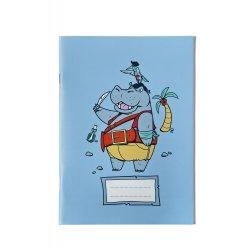 Caiet matematica A5 Hipopotam Pirat - Ioana Sopov