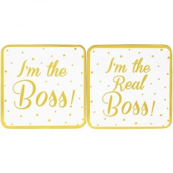 Suport pahar - I'm the Boss & I'm The Real Boss