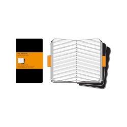 Set 3 caiete - Moleskine Cahier - Extra Large, Ruled - Black