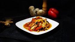 Legume la wok în stil asiatic   image