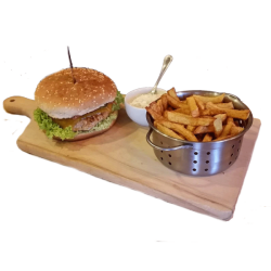Meniu burger puisor image