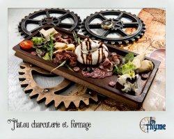 Platoul charcuterie et fromage
